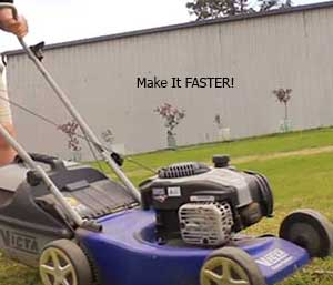 How To Make A Hydrostatic Lawnmower Faster? [With In-Depth Video]