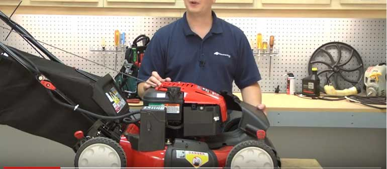 Install Side Discharge On Lawn Mower