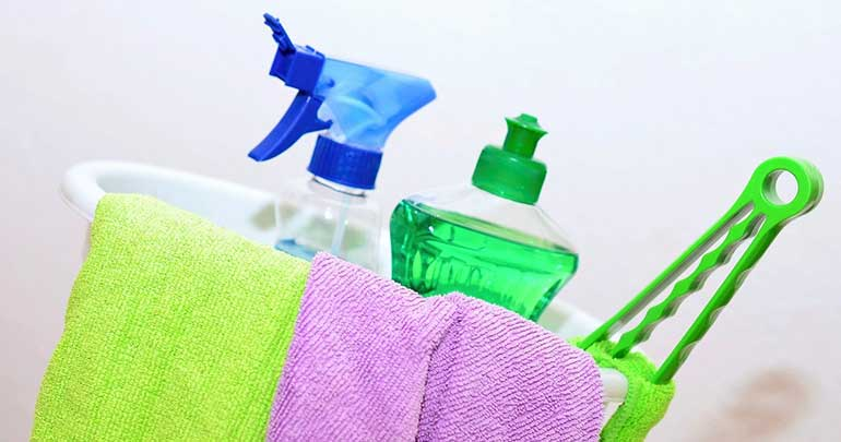 bedroom cleaning products