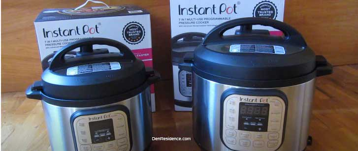 Instant pot 3 quart vs. 6 quart