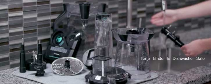 is the Ninja blender dishwasher safe