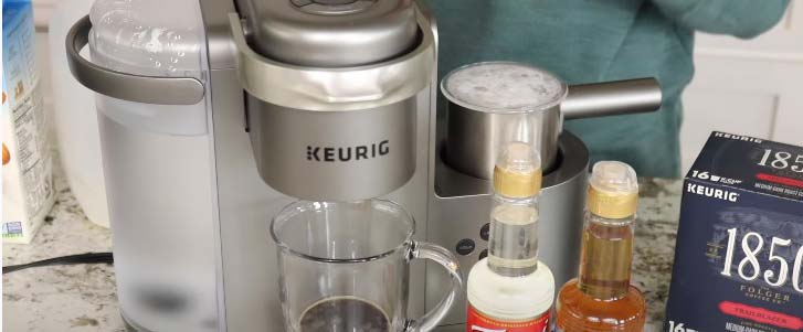 keurig k cafe frother not working