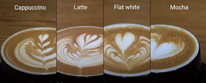 cappuccino vs. frappuccino