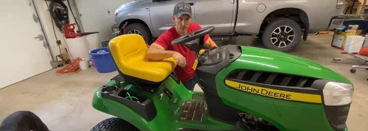 John Deere tractor turns over but won't start