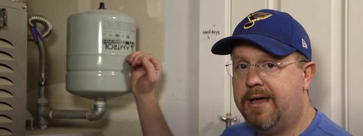hot water heater expansion tank problems