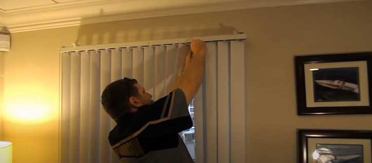 replacing slats on vertical blinds