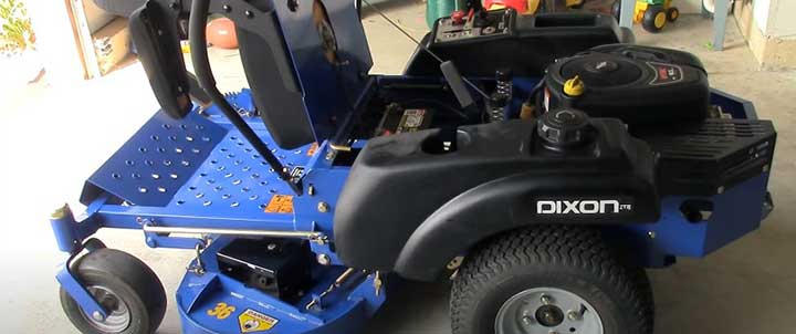 Dixon zero turn mower won't move