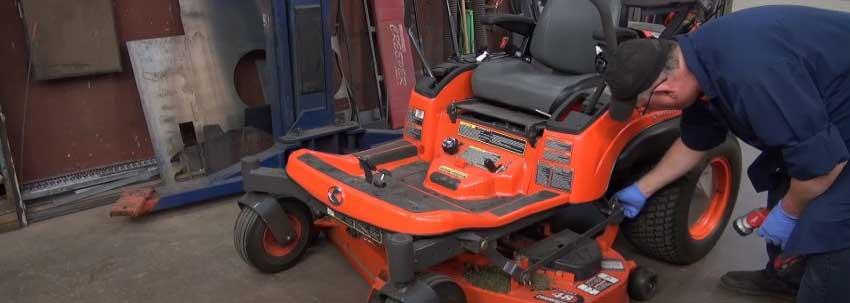Kubota zero turn mower problems