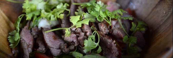 Yum Neua beef salad