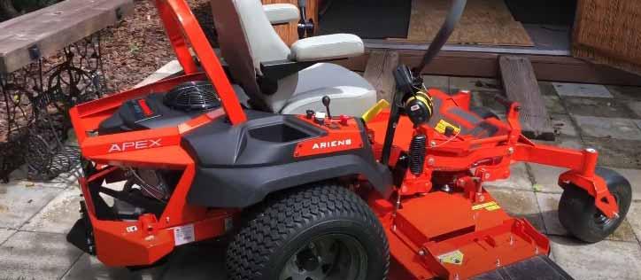 ariens zero turn mower problems