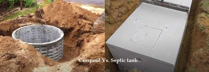 cesspool vs. septic tank