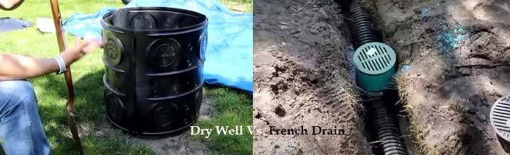 dry well vs. French drain