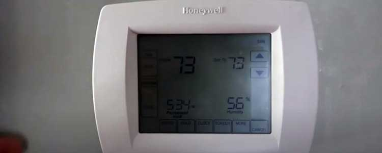 honeywell thermostat not working