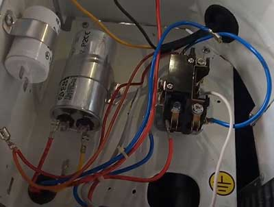 outside AC unit contactor