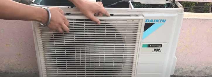 split AC outdoor unit not working