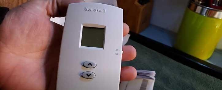 Honeywell Thermostat 1000 series