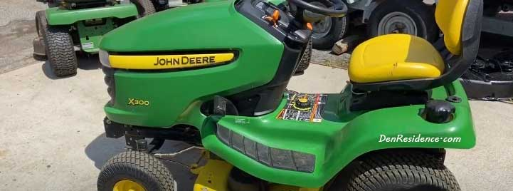 John Deere X300 problems
