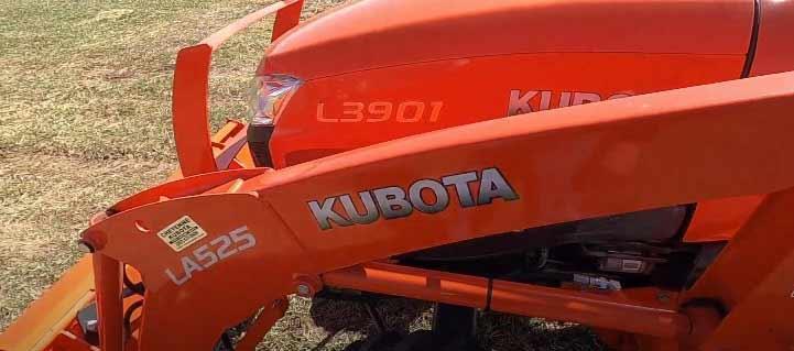 Kubota l3901 attachments