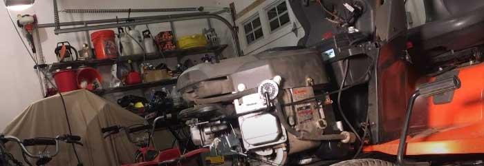 Husqvarna lawn tractor hydrostatic transmission problems