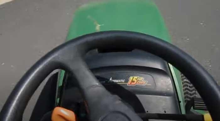 John Deere LT155 steering problems