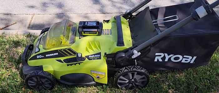 Ryobi lawn mower won't start