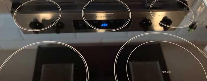 keeping ceramic stove top clean