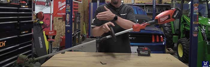 troubleshooting Milwaukee string trimmer