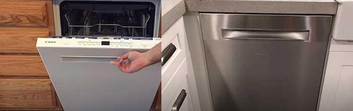Bosch 500 vs. 800 dishwasher