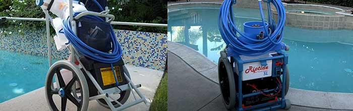 Riptide vs. Hammerhead pool vacuum