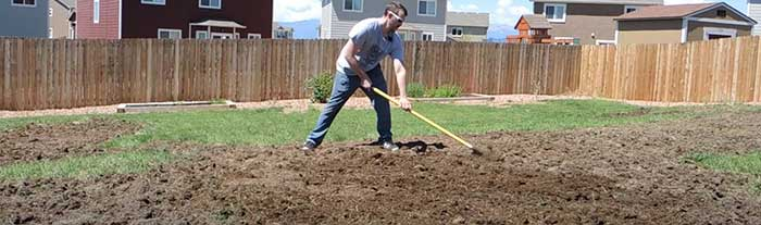 how to tear up a lawn and reseed