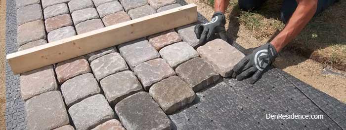 problems with pavers over concrete